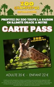 CARTEPASS PANNEAU 2016 AVEC TARIF pour net