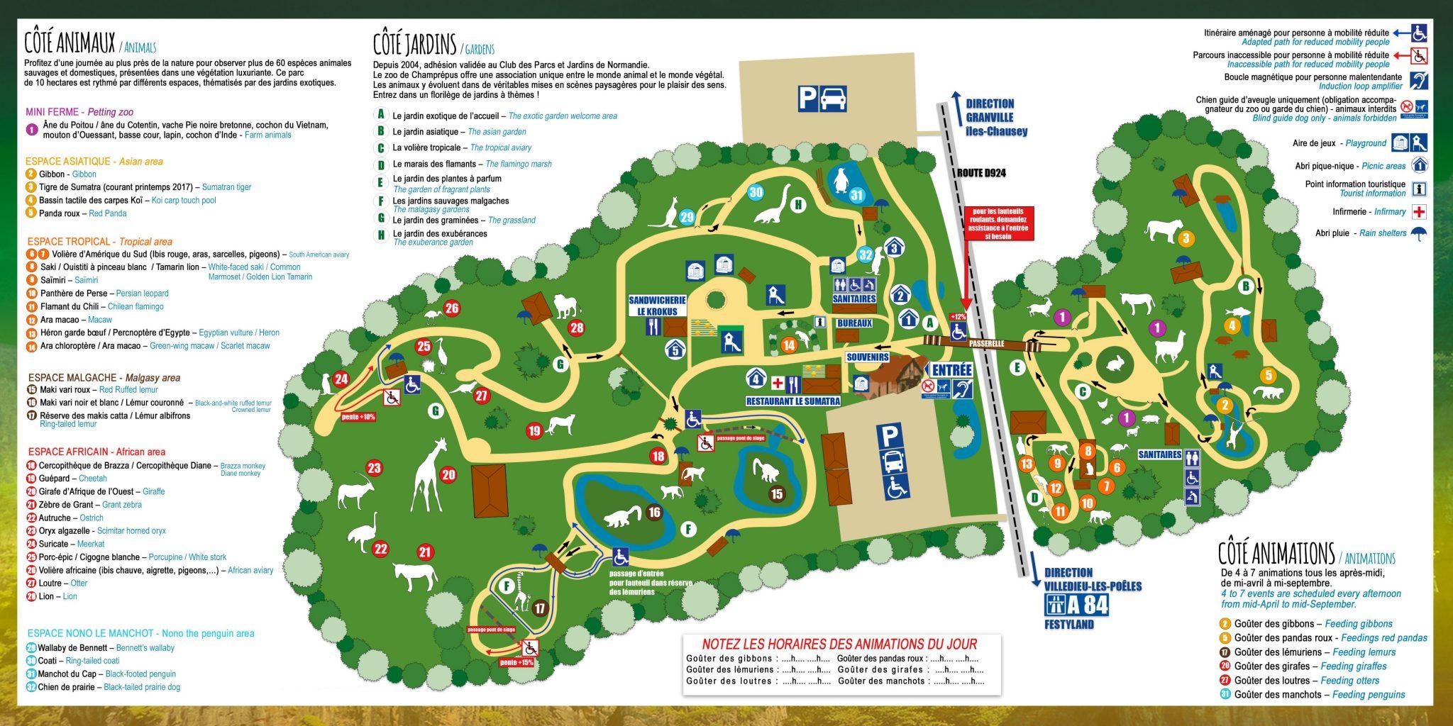 Zoo De Champrepus Tarifs Horaires 2019 Adresse